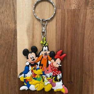 Disney authentic colorful keychain